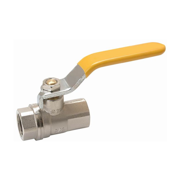GAS VALVE_ Brass Ball Valve With Full Bore_Art. TS-301
