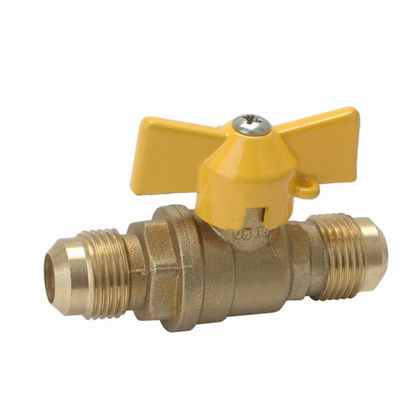 GAS VALVE_Brass Gas Ball Valve With Full Bore_Art.TS 360