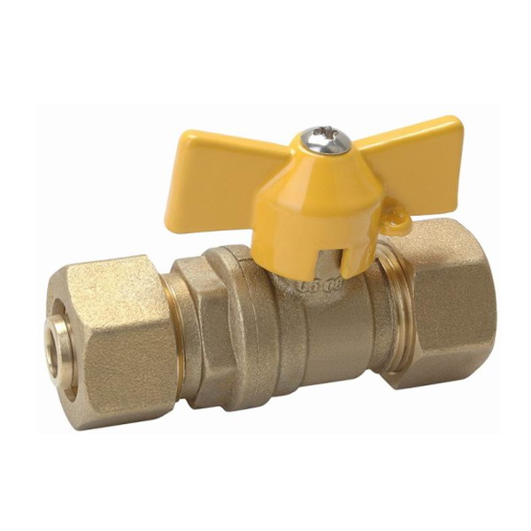GAS VALVE_Brass Gas Ball Valve With Full Bore_Art.TS 368
