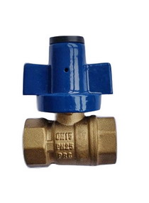 WATER METER VALVE_ Brass Ball Valve_Art. TS-609N