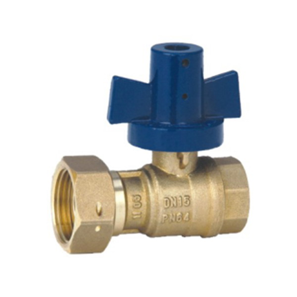 WATER METER VALVE_Ball Straight Outlet Water Meter valve_Art.TS 929