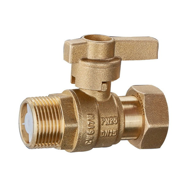 WATER METER VALVE_ Water Meter Valve With Check Cartridge_Art.TS 2001