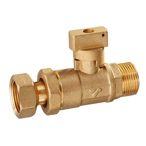 WATER METER VALVE_ Watermeter valve with telescopic formation_Art.TS 3001