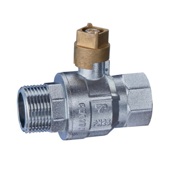 BRASS BALL VALVE _Ball valve with square handle_Art.TS 1101