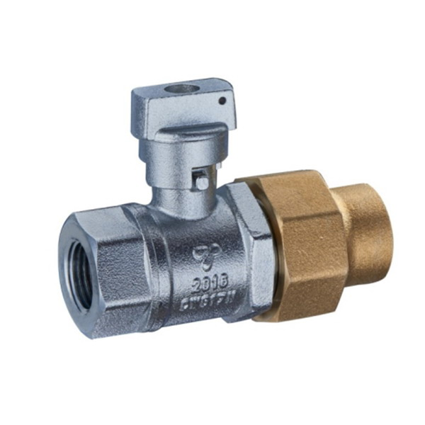 BRASS BALL VALVE _Ball valve with brass cap_Art.TS 4001F