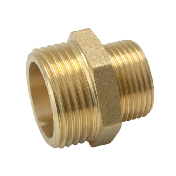 other fittings_​Brass Male Threaded Reducer Pipe Nipples_Art.TS 2610