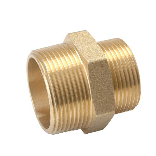 other fittings_​Brass Male Threaded Reducer Pipe Nipples_Art.TS 2612