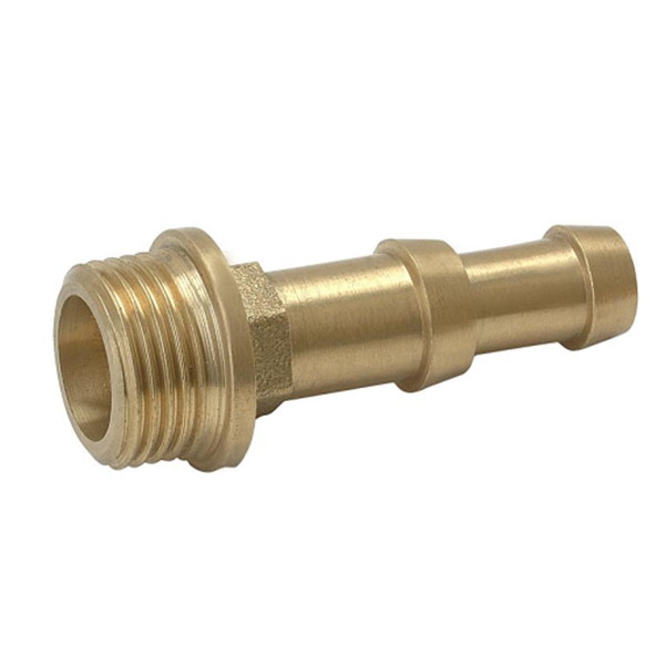 other fittings_Brass external thread leather tube straight head_Art.TS 21037