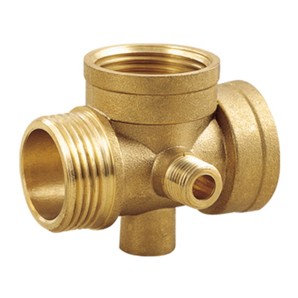 TEE_Brass 5-Way Connector Fittings_Art.TS-2221