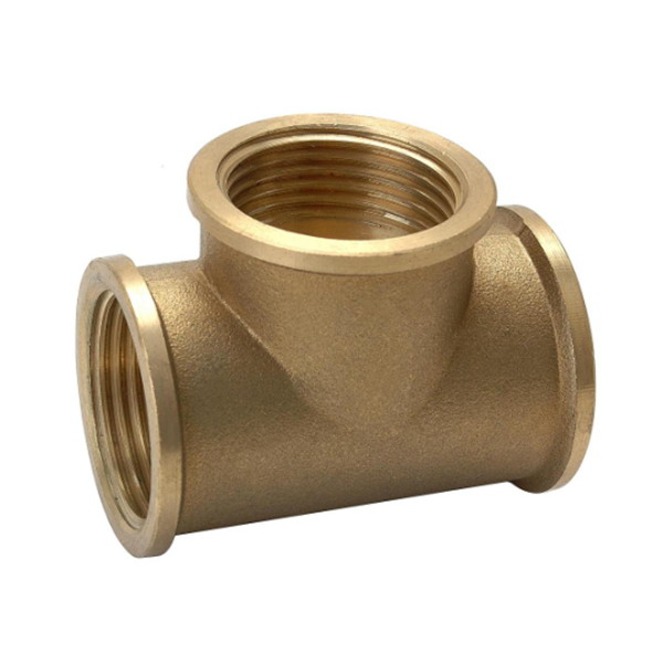 TEE_Brass T Shaped Equal Tee Connector Fittings_Art.TS-2590