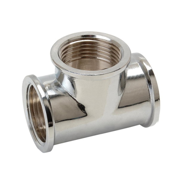 TEE_Brass T Shaped Equal Tee Connector Fittings_Art.TS-2591