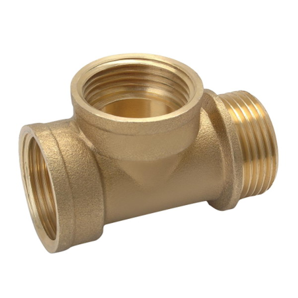 TEE_Brass T Shaped Tee Connector Fittings_Art.TS 2958
