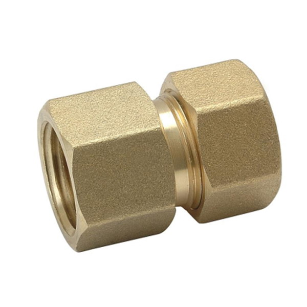 COMPRESSION FITTINGS_Brass Couplings Fittings For PEALPE Pipe_Art.TS 102