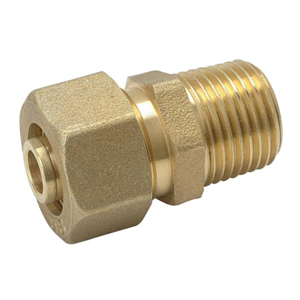 COMPRESSION FITTINGS_Brass Couplings Fittings For PEALPE Pipe_Art.TS 103