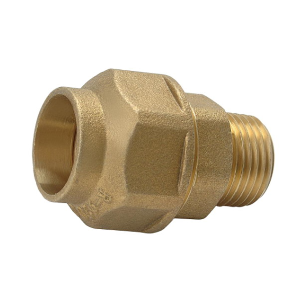 COMPRESSION FITTINGS_Brass Connector Pipe_Art.TS-8000