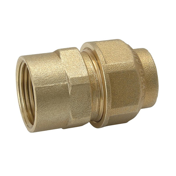 COMPRESSION FITTINGS_Brass Hose Barb Elbow_Art.TS 8005