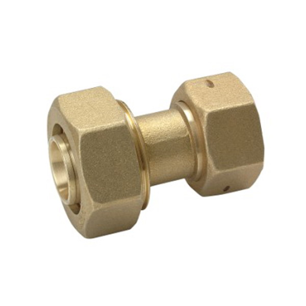COMPRESSION FITTINGS_Brass Gas Meter Connector_Art.TS-GMC