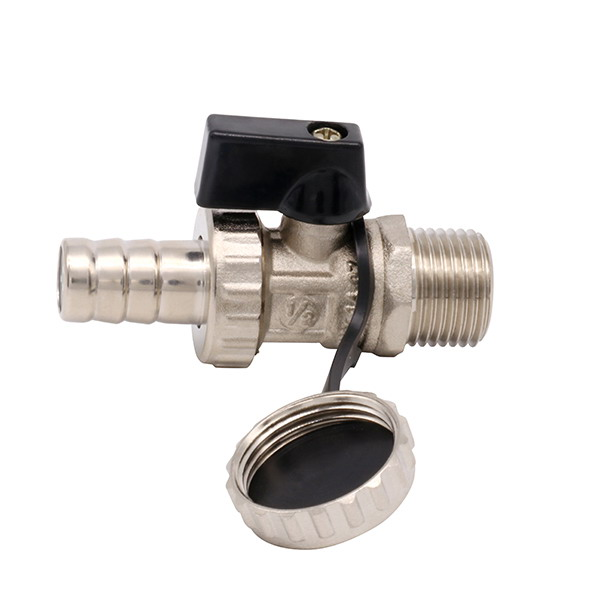 OTHER VALVES_ brass boiler discharge valve with cover_Art.TS 2477
