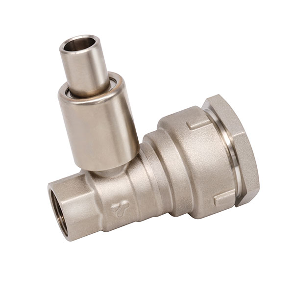 BRASS BALL VALVE _ Lockable ball valve with compression fitting_Art. TS 398