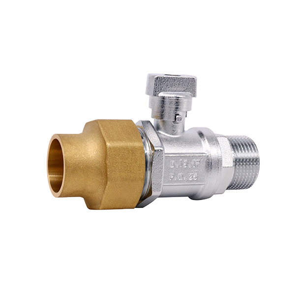 BRASS BALL VALVE _Ball valve with brass cap_Art.TS 4001M