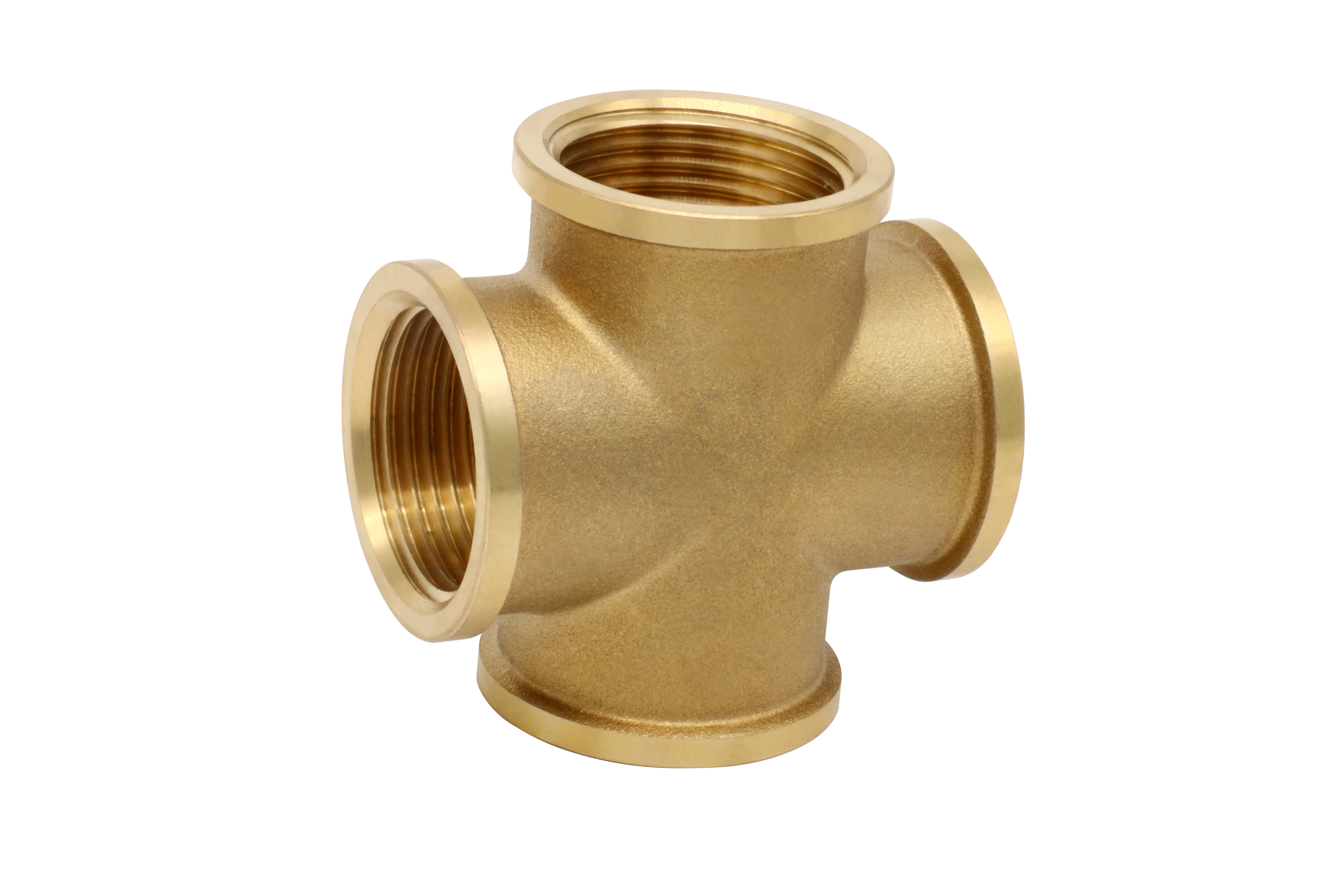 TEE_Brass 4-Way Connector Fittings_Art.TS 2592