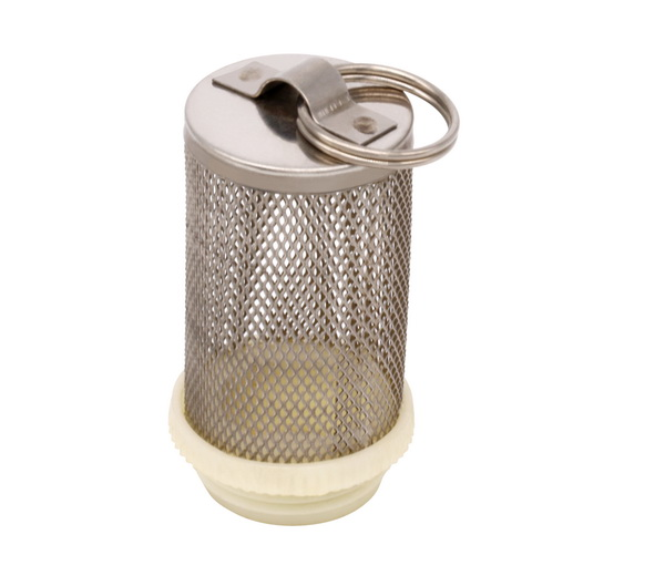other fittings_ Stainless Steel 304 Mesh Filter tube with ring_Art.TS 2235A