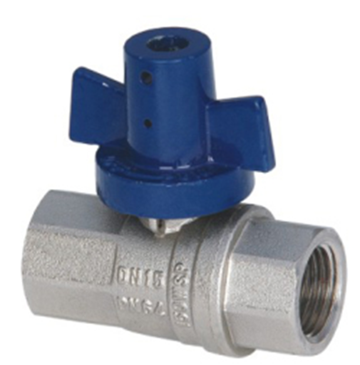 WATER METER VALVE_Brass Ball Valve With Full Bore Female/Female_Art.TS 409