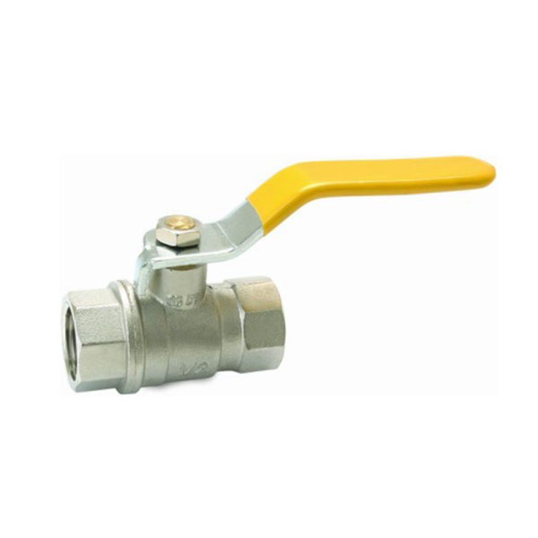 GAS VALVE_ Brass Gas Ball Valve With Full Bore_Art. TS-201