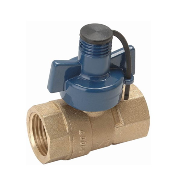 WATER METER VALVE_ Brass Ball Valve With Full Bore_Art.TS 709