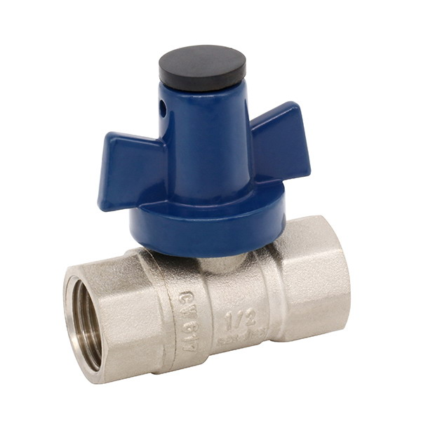 WATER METER VALVE_Brass Ball Valve With Full Bore_Art.TS 529