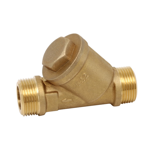 OTHER VALVES_Forged brass body with stainless filter_Art.TS 2522