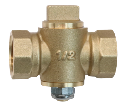 OTHER VALVES_Brass Plug Valve FxF_Art.TS 1 FxF